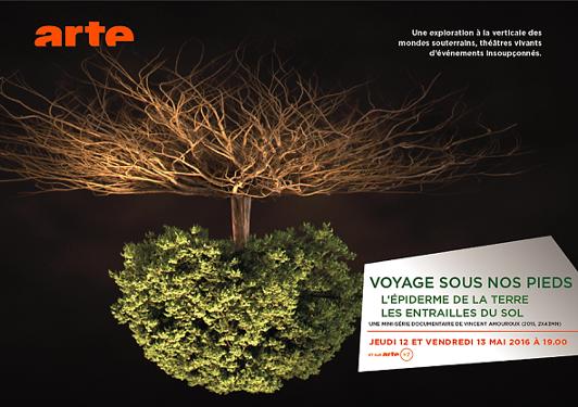 ENOVEO 2016 - Arte - Voyage sous nos pieds